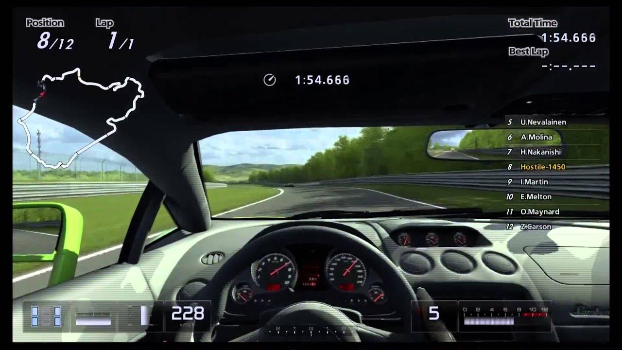 Gran Turismo 5 Seasonal Event 550pp Lamborghini Exclusive
