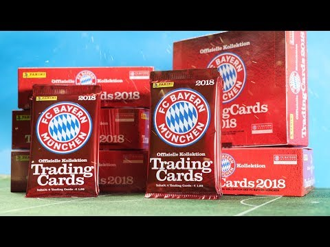 FC Bayern München FULL BOOSTER BOX Opening | Trading Card Game 2018