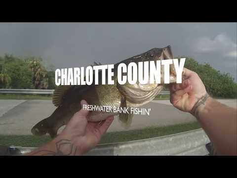CHARLOTTE COUNTY FL FRESHWATER BANK FISHING