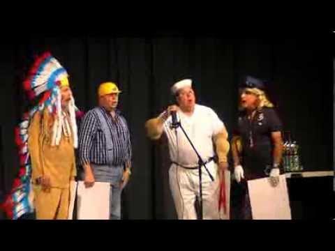 Spit-Tunes Comedy Barbershop Quartet 2013 Comedy ...