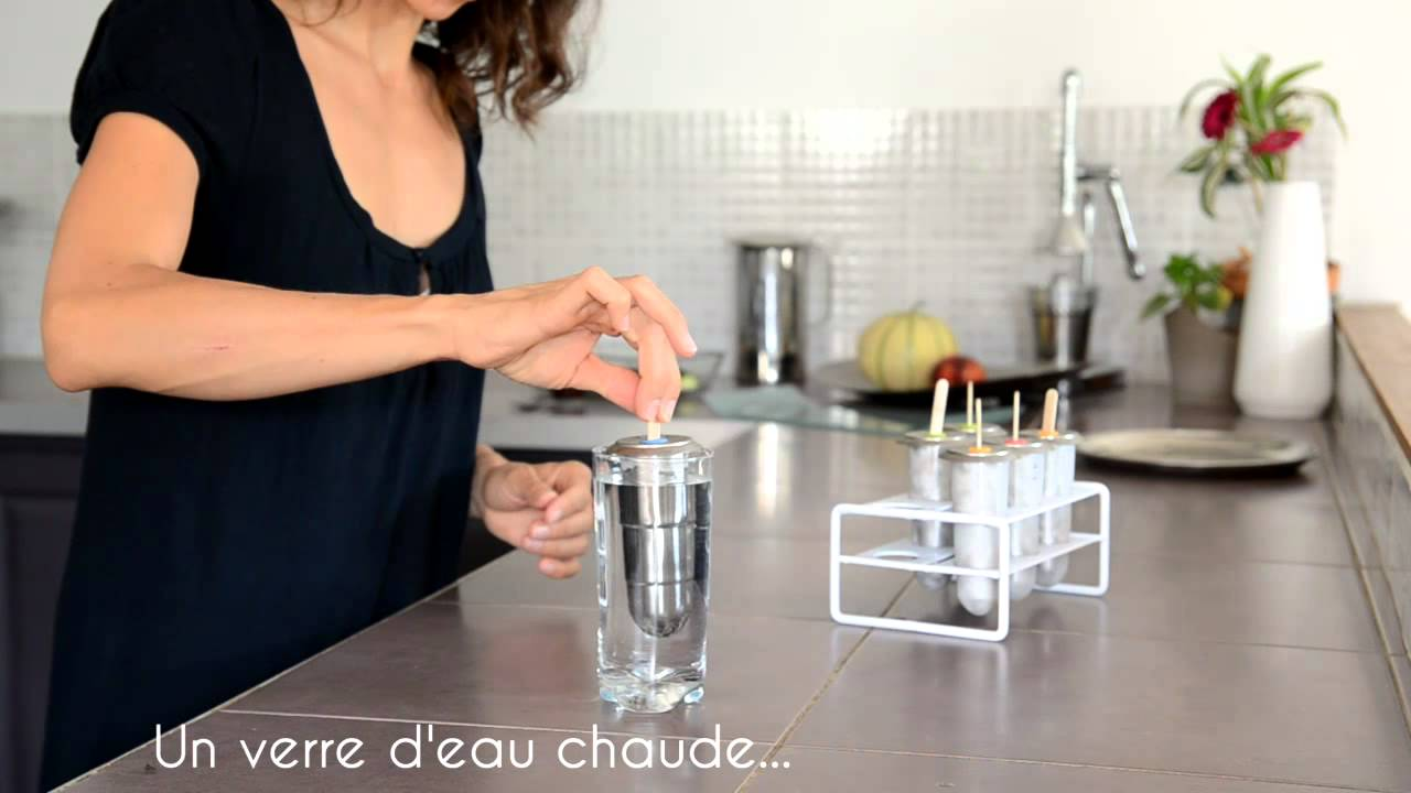 Glaces maison et moules glace en inox mode d 39 emploi youtube - Comment faire des glaces a l eau ...