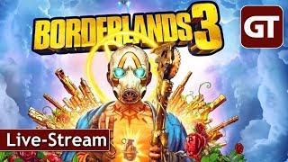 Thumbnail für Borderlands 3 - PC-Livestream von 12:00 bis 20:00 Uhr