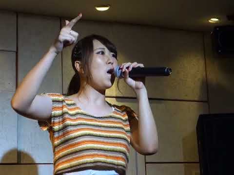 YES!(佐藤栞)「B-B-F」「アネモネ」(オリジナル)、本町アポロシアター、18.08.04