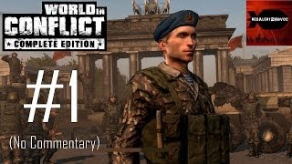 World in Conflict Complete Edition - Campaign Playthrough Part 1 (Liberation, No Commentary)