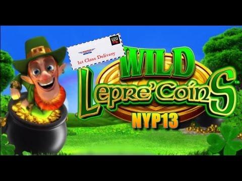 Aristocrat Lepre Coins Slot Line Hit Amp Bonus Youtube
