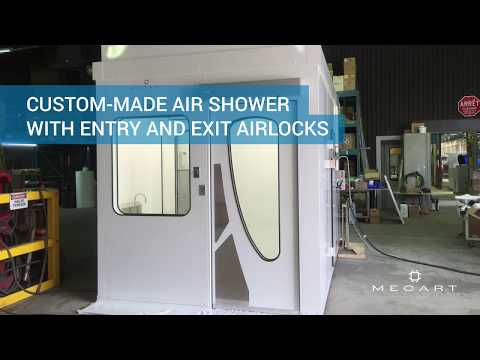 Air Shower for Cleanroom - Custom-Made by Mecart