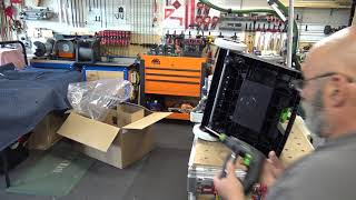 Unboxing and Assembly of Festool's MW 1000 mobile work station.