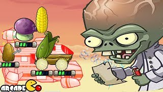 Plants Vs Zombies: Star Wars - NEW Unlocked Space Ship Battle With Dr Zomboss - PVZ Tower Defense
