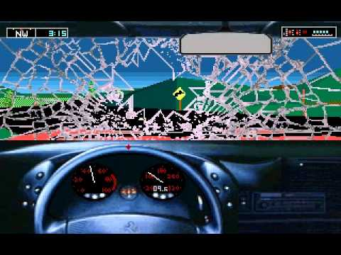 Test Drive 3 - The Passion (DOS) - Gameplay