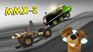 #21 MMX Hill Dash 2, Крутые игры про машинки и Дурацкая Собачка