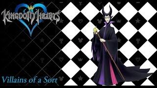 Kingdom Hearts 1.5 OST Maleficent / Disney Villain BGM ( Villains of a Sort )