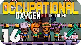NEW COOLER GREENHOUSE!!! - Oxygen Not Included ▶OCCUPATIONAL UPGRADE◀  EP16 ONI JOBS UPDATE