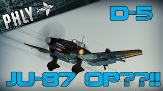 War Thunder Planes- JU-87 Hidden Powers- With Jingles!