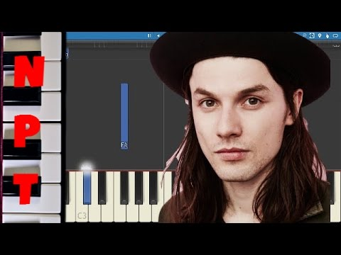 James Bay - Let It Go - EASY Piano Tutorial