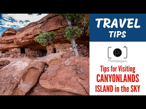 Canyonlands National Park Island in the Sky Travel and Photography TIPS