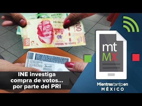 INE investiga compra de votos... por parte del PRI