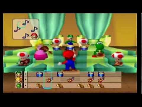 Mario Party: 4 Player Minigame - Mario Bandstand