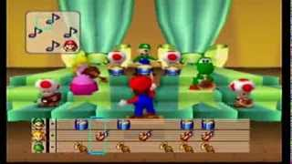 Mario Party: 4 Player Minigame - Mario Bandstand