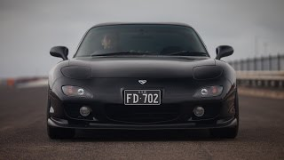 Grey Import: A Rainy Morning with an FD3S RX-7