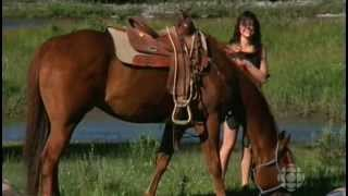 Repeat youtube video Michelle Morgan(I think) HeartLand S02E05 ENF Skinny Dipping Caught Naked