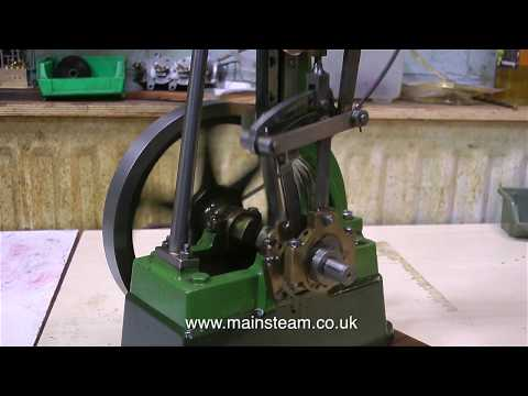 STUART NUMBER ONE STEAM ENGINE REPAIR - PART #3