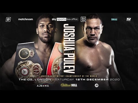 CONFIRMED: Anthony Joshua vs Kubrat Pulev, Dec 12th 2020