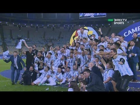 Argentina vs Brasil   Copa América 2021   Partido Completo   Final   DIRECTV Sports
