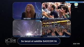 #NocheEspacial | El satélite está en órbita