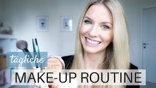Tägliche Make Up Routine | Schmink Tutorial Tages-Make Up | MamaBabyLiebe