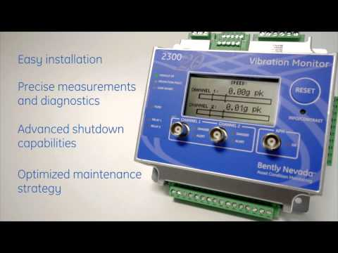 hqdefault introducing ge's bently nevada 2300 vibration monitor youtube bently nevada 1900/65a wiring diagram at crackthecode.co