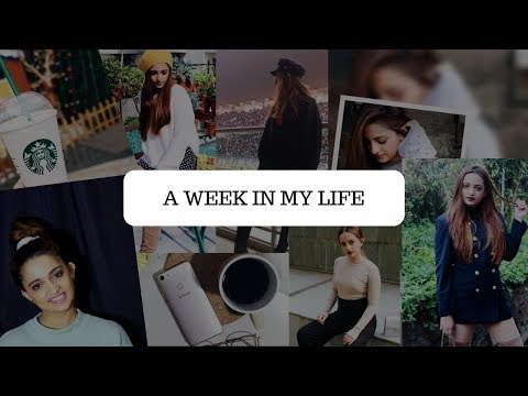 A WEEK IN MY LIFE | COME SHOPPING WITH ME + GIRLS NIGHT + SHOOT DAY + CLEARING MY ROOM | Sakhi Kapur