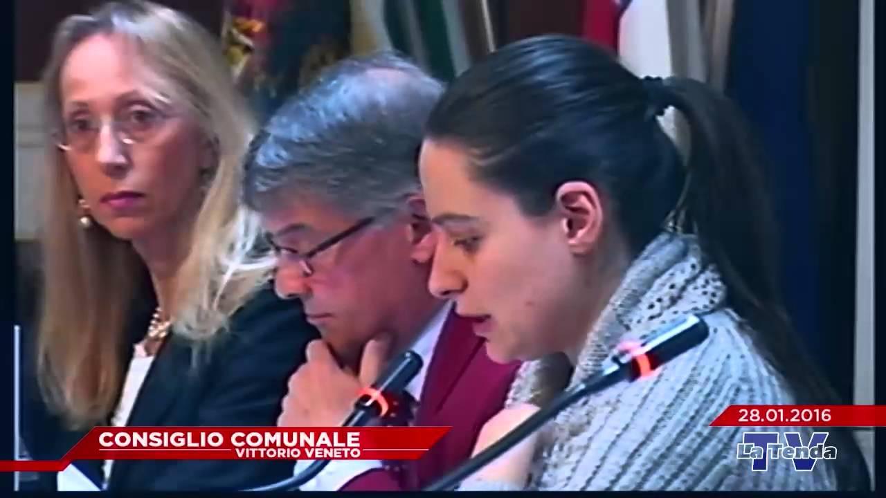 CONSIGLIO COMUNALE VITTORIO VENETO - Seduta del 28.01.2016