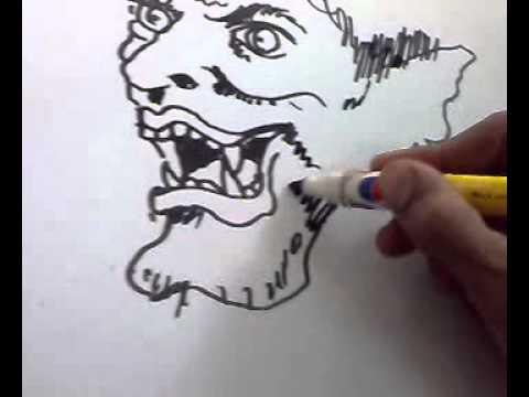 video cara melukis - YouTube