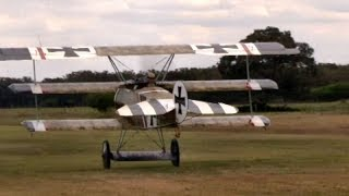 Wings and Wheel Enthusiasts at the Old Kingsbury Aerodrome 2013