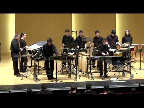 Vashon Island High School Percussion Ensemble at CWSU State Finals