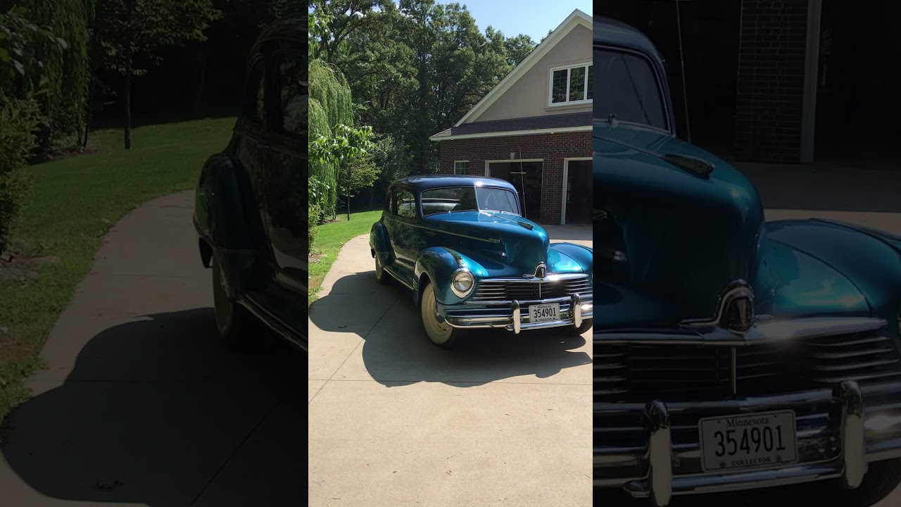 hight resolution of 1947 hudson wiring harness 1947 hudson super eight business coupe for sale youtube1947 hudson super eight business coupe for sale