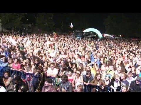 "MR VEGAS ""Heads high"" - Live @ OSTRÓDA REGGAE FESTIVAL 2011"