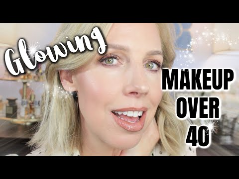 glowing-makeup-over-40