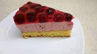Вишневый торт без выпечки - что приготовить из вишни? Очень вкусный вишневый чизкейк