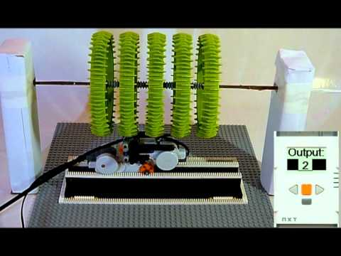 Lego Mega Motor Multiplexer Exowheel Youtube