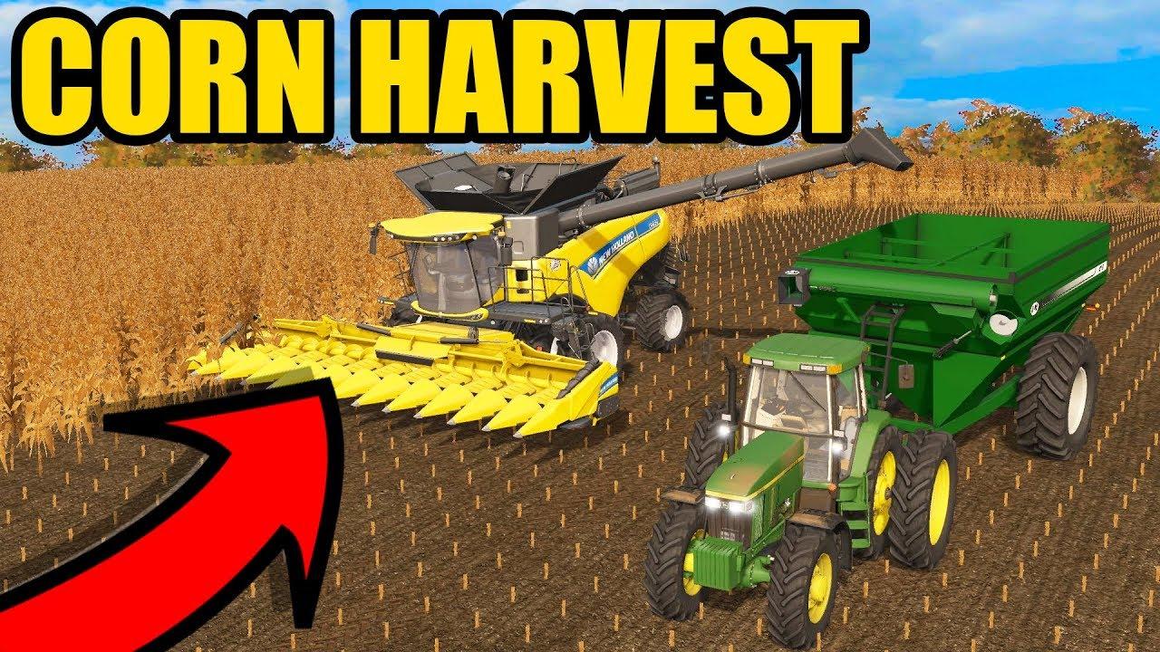 WE ARE HARVESTING MORE CORN   BIG YIELD   FARMING SIMULATOR 2017   EP#49
