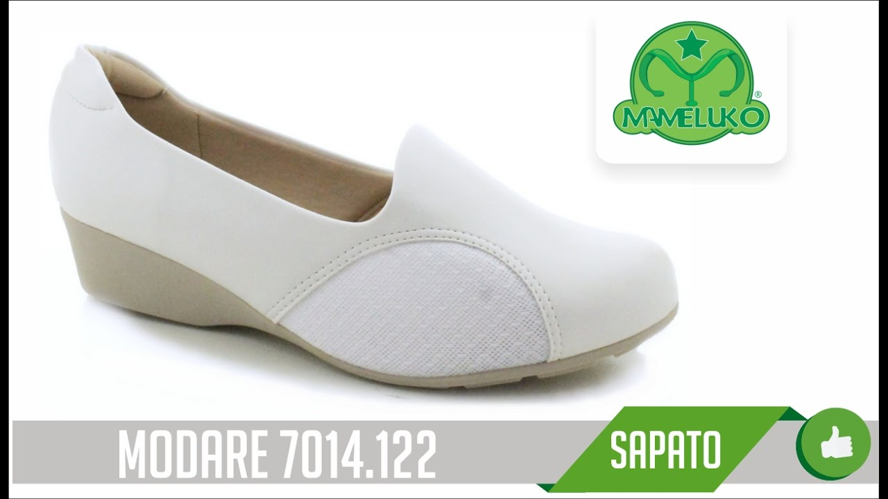 dbd51c3ad5 Sapato Joanete Modare 7014 122 Mameluko Calçados Profissionais - YouTube
