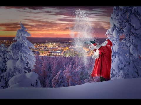 Santa Claus shows his hometown in Lapland
