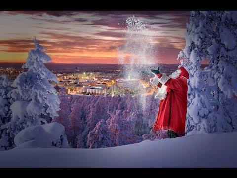 Santa Claus shows his hometown in Lapland