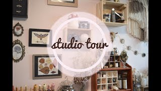 Studio Tour of my Creative Space!