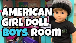 Awesome Boys Room For American Girl Doll
