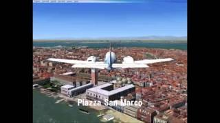FSX visit Venice in Italy