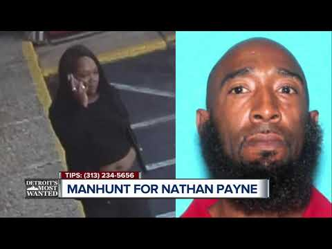 Detroit's Most Wanted: Nathan Payne and unidentified woman