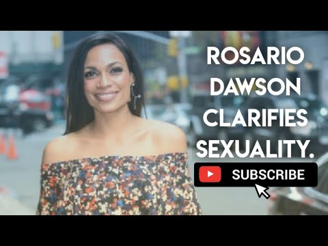 Rosario Dawson Clarifies Her Sexuality and Relationship With Cory ...