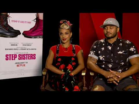 Step Sisters Star Megalyn Echikunwoke & Writer Chuck Hayward Dish on College & Stepping